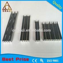 Customizable corrugated electric deep fryer ptc heater