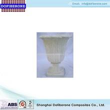 Wholesale china import decorative merchandise fiberglass urn planter, flower pot