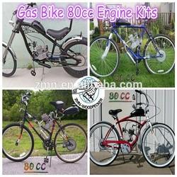 kit del motor de bicicleta 80cc de 2 tiempos/kit del motor de motocicleta