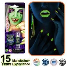 Window Box Glow In The Dark Lipstick Neon Face Paint halloween make up