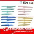 4 pccolor 3'' 4'' 5'' 6'' utilidad de cerámica multi- función cuchillo conjunto cuchillo de obsidiana