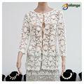 сексуальный дизайн для 2015 летом одеёды оптовая дамы шелковый шифон блузки белый