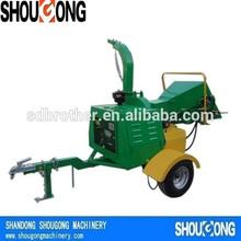 22hp Diesel Powered Hydraulic Shredding Machine