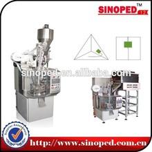 triangle tea bag packing machine(nylon mesh) tea bag making machine