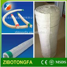 1260 thermal insulation ceramic fiber textile(rope tape yarn cloth)