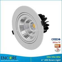 Sharp COB LED kitchen lighting surface mount down light