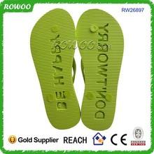 promotional fashion casual eva die cut sole flip flops