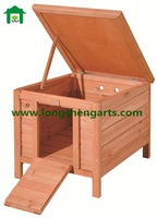 Portable small wooden Rabbit Cage