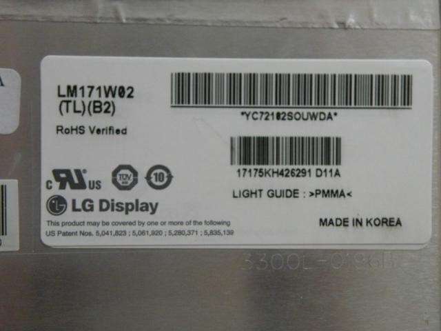 lm171w02 tl b2 laptop screen for imac G5