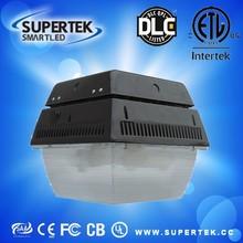 dlc ul etl china supplier 40w/60w/80w/100w led canopy