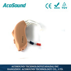 Hot selling AcoSound Acomate 420 BTE non-programmable cheap hearing aid digital, CE Approved hidden listening devices