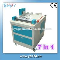 hot sale automatic machine China for menu photo album hot melt glue