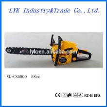 high quality china cheap gasoline 58cc chainsaw 5800/ chain saw 5800