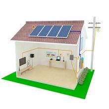 Bluesun best design on-grid 1kw solar power plant for solar home system