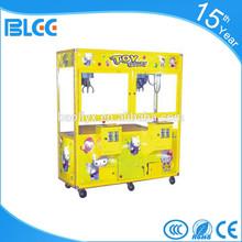 Amusement Theme Park Coin Operated Toy Crane Gift Game Machine Claw Crane Toy Machine