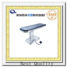 Stainless steel Slant column X Ray & C Arm electric operating table operating apparatus table