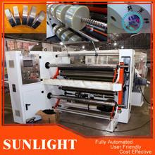 Jumbo Roll To Small Rolls Converting And Slitting Machinery