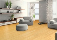 2015 New Product China Professional Manufacturer Green Horizontal solid Bamboo Flooring