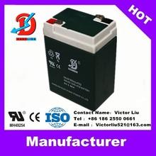 2014 hot sale solar battery 6v5.5ah , AGM battery 6v 5.5ah China supplier