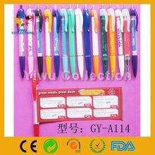 retractable banner pen,solid banner pen,pull paper pen