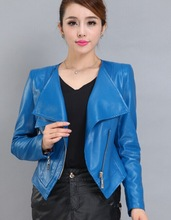 western style leather jackets for women