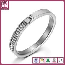Shenzhen Kington zircon and leather 925 silver jewellery