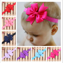 New Baby Bow Headband Bowknot Headbands Infant Hair Band Accessories