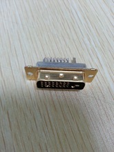 Professional manufacturer of dvi 24+1pin male solder type connector