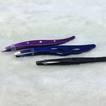 ultra fine eyelash extension tweezers/stainless steel fine tweezers