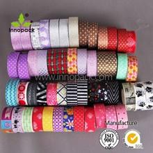 Manufacture customization fashion DIY tape Decorative washi lace tape washi tape