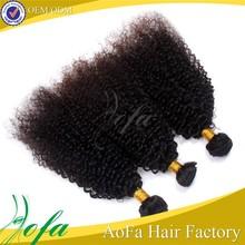 Tangle free bulk price unprocessed virgin afro kinky curly virgin human hair