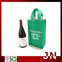 2 Bottle Insulated Wine Tote Bags,Non Woven Insulated Wine Bags,Promotional Wine Glass Carrier Bags