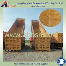 UHMWPE truck bulk material handling sheet/truck bed liner