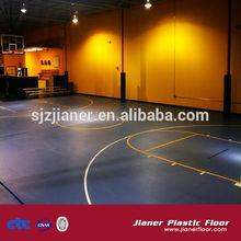 Availble colors indoor badminton flooring/basketball/volleyball carpet floor