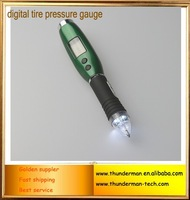 150psi With a ballpoint pen and LED lighting luminous function LCD Digital digital tire pressure gauge