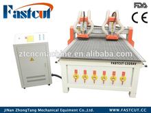 Aluminium-plastic composite panel rack and pinion ball screw cnc machining center