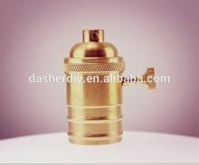 copper/metal pendant light /copper lampholder sets