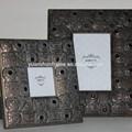 Arábica de luxo em madeira moldura, moldura decorativa