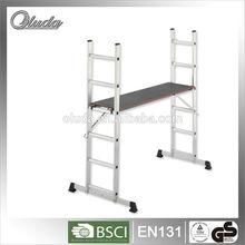 aluminum folded ladder