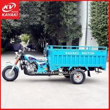 2014 hot selling Steel TUK TUK tricycle semi-closed Water Cool gasoline 3 wheel motorcycle