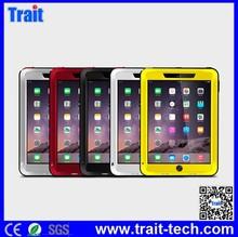 Love Mei Metal+Aluminium+Gorilla Glass Hybrid Waterproof Case for iPad Air 2