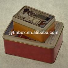 Factory directly and custom zakka tin box for decoration/storage/gift