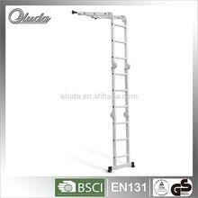 Hot Sale Multi-purpose Aluminum Ladder Tree Stand /Folding Aluminum ladder