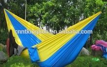 Hot style nylon parachute outdoor portable double hammock