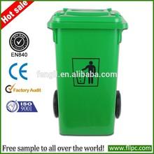 HDPE trash bins recycled bin waste