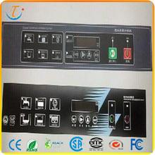 Matte PC Panel Push Button Switch Membrane