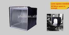 LW-LT001 60cm, 40cm professional photography equipment light tent photo studio soft box lighting kit