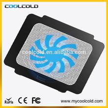 2015 best seller single fan 14inch notebook cooler pad, adjustable cheap laptop accessories