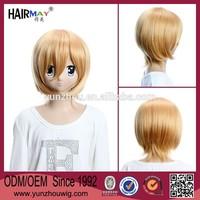 STAR DRIVER Wako Agemaki ashe cosplay short blonde wig