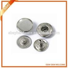 Fashion press custom metal snap button jewelry